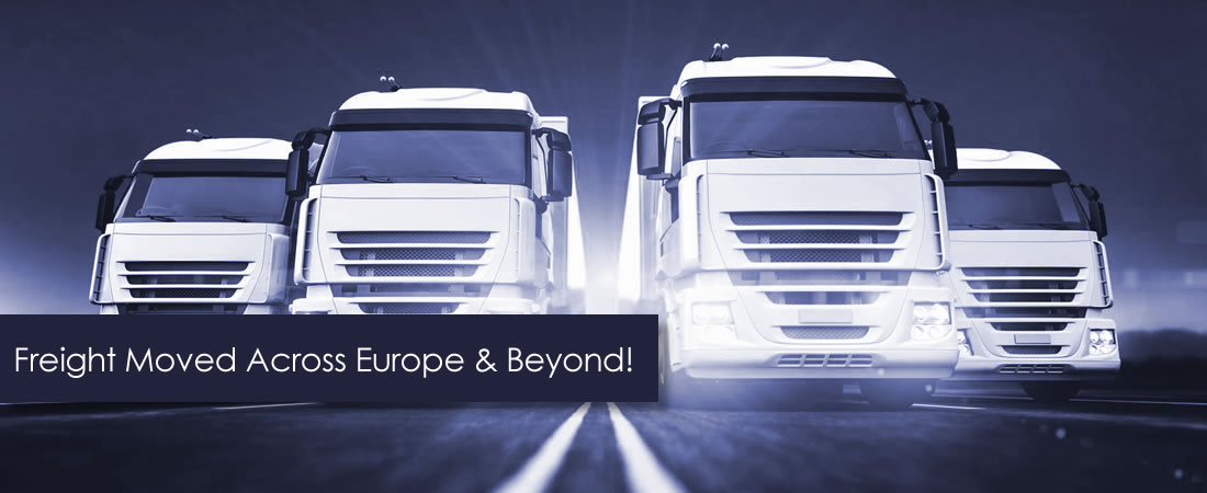 Freight Moved Across Europe & Beyond!
